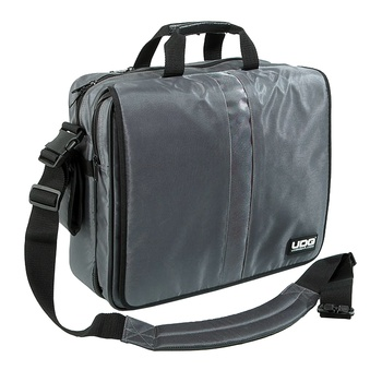 "Сумка UDG Ultimate CourierBag DeLuxe 17"" Steel Grey, Orange inside"