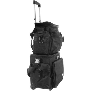 Сумка UDG Ultimate SlingBag Trolley Set DeLuxe Black/Orange inside
